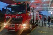 RS Sentra Medika Cibinong Terbakar, Ruang di Lantai Dasar Hangus