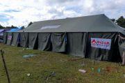 Mizan Salurkan Bantuan Tenda dari Konsumen Alfamart untuk Korban Gempa