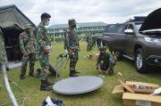 Lancarkan Evakuasi Korban Gempa Sulbar, Kodam XIV/Hsn Gelar Jarkom Militer