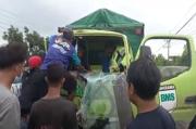 Kecelakaan Beruntun di Jalan Raya by Pass Mojokerto, Sopir Kejepit