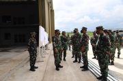 Panglima TNI Tinjau Fasilitas Baru Sukhoi dan ACMI di Lanud Iswahjudi