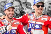 Dua Sisi Kisah Sukses Lorenzo dan Dovizioso di Ducati