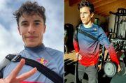 Pamer Latihan Barbel di Medsos, Marc Marquez Siap Tampil di MotoGP 2021?