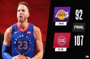 Hasil Lengkap Pertandingan NBA, Jumat (29/1/2021): Lakers Telan Kekalahan Beruntun Pertama