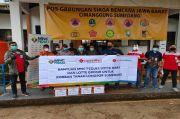 MNC Peduli, Lotte Mart dan Lotte Grosir Salurkan Bantuan kepada Korban Banjir di Sumedang
