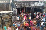 Pertamini Terbakar, Swalayan Ikut Hangus di Mandaiing Natal