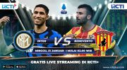 Live Streaming RCTI Plus: Inter Milan vs Benevento