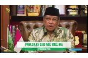 KH Said Aqil: Kontribusi NU Menjaga Solidaritas di Tanah Air Sangat Besar