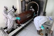 Sejak Pandemi, Petugas Krematorium Tidur di Lokasi Pembakaran Mayat
