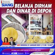 iNews Siang Pukul 11.00 Ini: Belanja Gunakan Dinar & Dirham di Depok