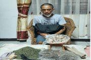 Sembunyikan 122 Paket Ganja di Dapur, Pria Plontos Ini Ditangkap Polisi