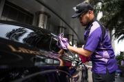 Pakai Liquid, Cuci Mobil Bersih Tanpa Gunakan Air