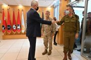 Menhan Israel Sambangi Markas Depths Corps, Ancaman Terselubung ke Iran