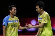 Terjungkal di Final, Ahsan/Hendra Mengakui Lawan Tampil Lebih Bagus