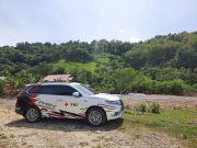 Kemampuan Setrum Mitsubishi Outlander PHEV Diuji di Lokasi Bencana