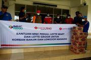 MNC Peduli, Lotte Mart dan Lotte Grosir Bantu Korban Banjir serta Longsor di Manado