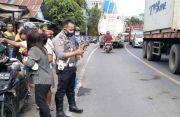 Tragis, Balita Asal Bitung Tewas Dilindas Truk saat Jatuh dari Motor