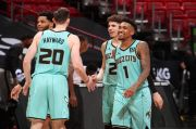 Hasil Lengkap Pertandingan NBA, Selasa (2/2/2021) WIB: Lakers Tumbangkan Atlanta, Monk Cetak Rekor