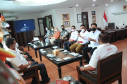 LPDUK dan KONI Pusat Jajaki Kerja Sama Pengelolaan Dana Komersil PON XX Papua