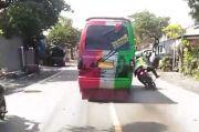 Aksi Sopir MPU Gemparkan Probolinggo, Nekat Tabrak Polantas Saat akan Ditangkap