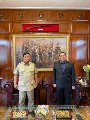 Bertemu Prabowo Subianto, Fadli Zon: Alhamdulillah Beliau Sehat