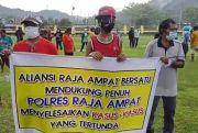 Aliansi Raja Ampat Bersatu Tuntut Polri dan Kejaksaan Serius Tangani Kasus Hukum di Kabupaten Bahari