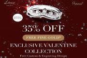 Diskon 35% Sambut Hari Valentine, The F Thing X Lino & Sons Rilis 20 Koleksi Perhiasan
