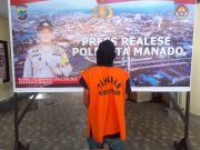 Kedapatan Sembunyikan Sabu di Dapur, Pemuda Manado Diciduk Polisi