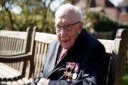 Kapten Sir Tom Moore Pahlawan Inggris Meninggal karena COVID-19
