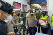 Pangdam Jaya dan Kapolda Metro Tinjau Penerapan Prokes di Stasiun Kota