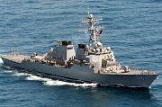 Taipei-Beijing Bersitegang, Kapal Perang AS Transit di Selat Taiwan