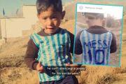Kisah si Bocah Kantong Plastik Fans Messi dan Ancaman Diculik Taliban
