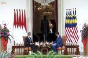 Tak Biasa, Jokowi Sambut Tamu Negara di Istana Merdeka Bukan di Istana Bogor