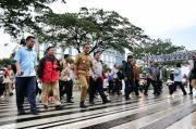 Raih Pahlawan Transportasi Dunia, Anies Puji Pejalan Kaki dan Pengguna Transportasi Publik