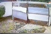 Terekam CCTV, Bocah Kecil Curi Paket Milik Warga di Depok