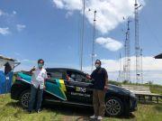 Coba Mobil Listrik Jakarta-Ciheras, Dekom PJB: Tetap Kencang Walaupun Diguyur Hujan