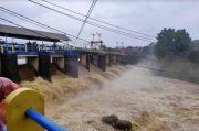 TMA Sungai Ciliwung Kembali Naik, Bendung Katulampa Siaga 3 Lagi