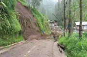 Sejumlah Wilayah di Kabupaten Toraja Utara Longsor