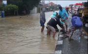 Jalur Pantura Indramayu Banjir, Delapan Kecamatan Terendam