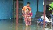 Curah Hujan Tinggi, Banjir di Demak Meluas