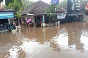 Biasanya Dilanda Kekeringan, Kini Kapanewon Tepus Tergenang Banjir