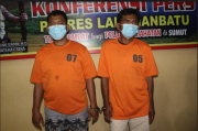 Melawan saat Ditangkap, 2 Kurir Narkoba Sindikat Man Batak Ditembak