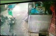 Pencurian Daging di Rumah Makan Palembang Terekam CCTV, Pelaku Berjaket Ojek Online