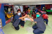 MNC Peduli Hibur Anak-anak Kolong Tol Petak Seng