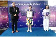 Cadbury Pecahkan Rekor MURI melalui Inspirasi Ungkapan Cinta di Media Sosial
