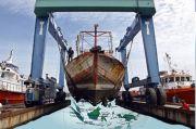 Diterjang Gelombang Tinggi, Kapal Amerika Terpaksa Lego Jangkar di Alor