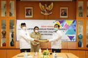 Penyerahan LKPD Provinsi Banten Tahun 2020 Tercepat se-Indonesia