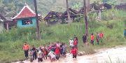 Abdul Azis, Pemotor yang Jatuh ke Sungai Kalongan Akhirnya Ditemukan Tewas
