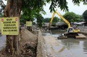 Pemprov DKI Tegaskan Normalisasi Kali di Jakarta Masih Dijalankan