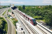 Progres LRT Jabodebek Semakin Meningkat, Pembangunan Mencapai 82%
